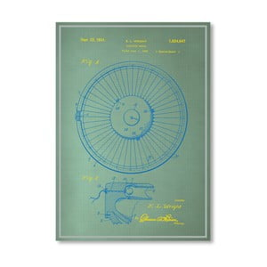 Plakat Roulette Wheel I, 30x42 cm