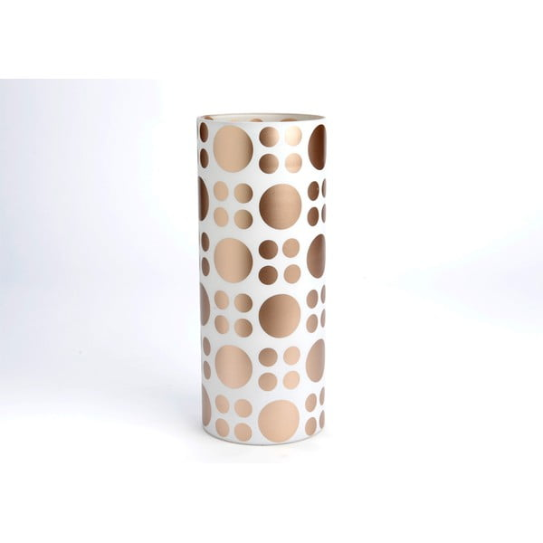 Wazon Cylinder Golden Vase