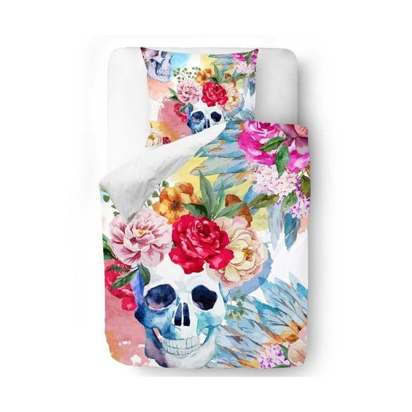 Pościel Skull in Flowers, 140x200 cm