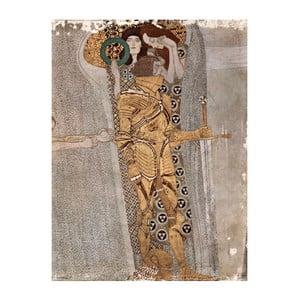 Reprodukcja obrazu Gustava Klimta - Fregio Di Beethoven, 60x45 cm