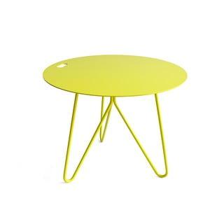 Żółty stolik  Galula Seis