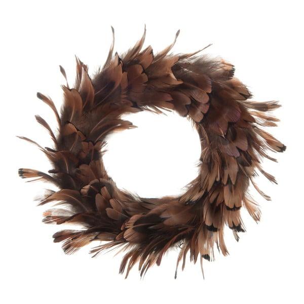 Dekoracja na stół J-Line Feathers Wreah