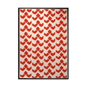 Dywan Esprit Bauhaus Red, 140x200 cm
