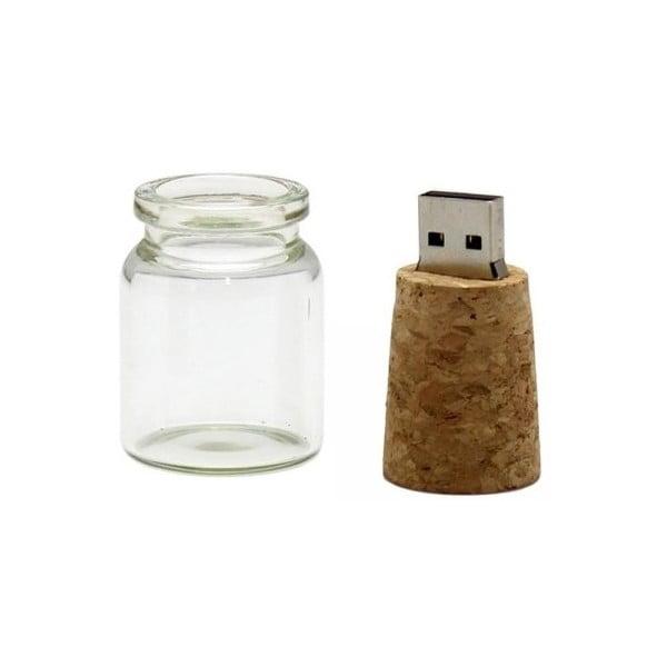 Pamięć USB 8 GB List w butelce