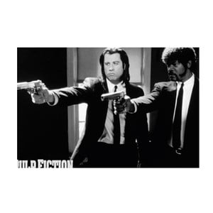 Foto-obraz Pulp Fiction , 81x51 cm