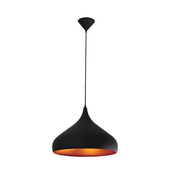 Lampa wisząca Tuba 42.5 cm, czarna