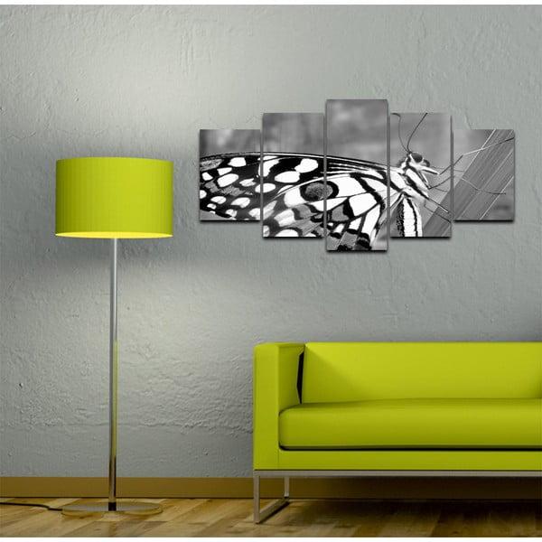 Wieloczęściowy obraz Black&White no. 10, 100x50 cm