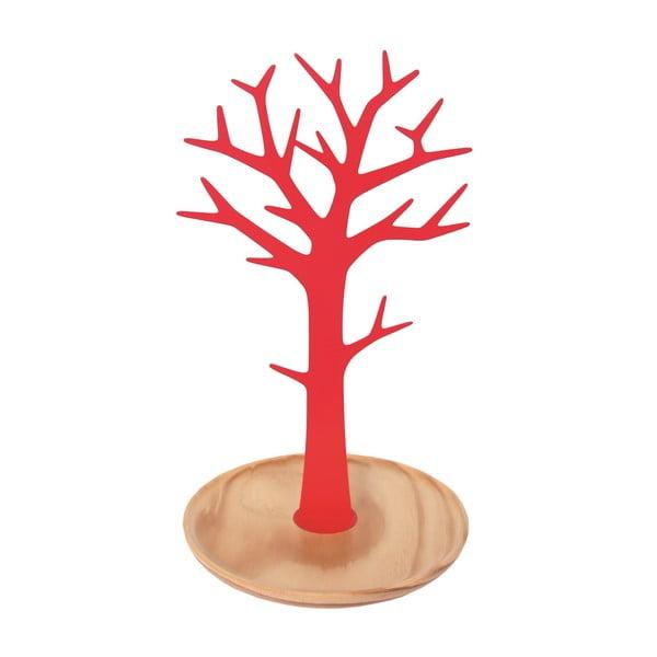 Stojak na biżuterię Tree Red