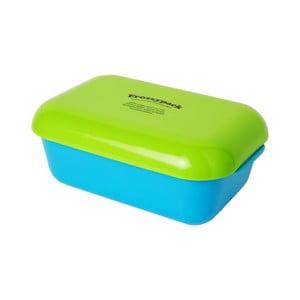 Pojemnik z wkładem chłodzącym Frozzypack Summer Edition, turquoise/green