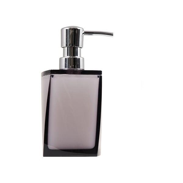 Dozownik do mydła Transparent Dark Grey