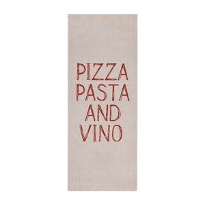 Beżowy chodnik do kuchni Zala Living Soho Pizza, 80x200 cm