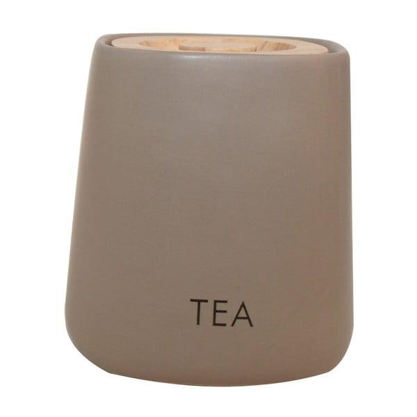 Pojemnik na herbatę Cubic Matt Taupe