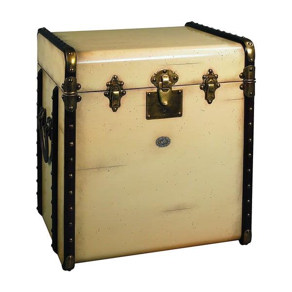Stolik w kształcie kufra Stateroom, beżowy