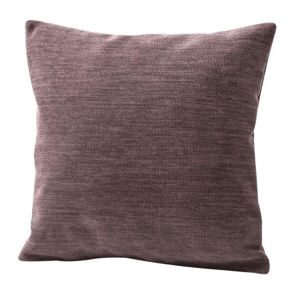 Brązowa poduszka z wypełnieniem Max Winzer Prag, 40x40 cm