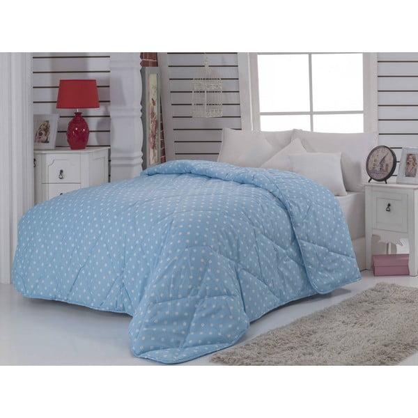 Narzuta pikowana na łóżko jednoosobowe Gette, 155x215 cm