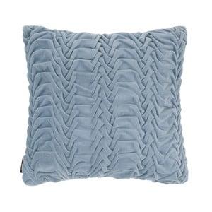 Niebieska poduszka ZicZac Glister, 45x45 cm