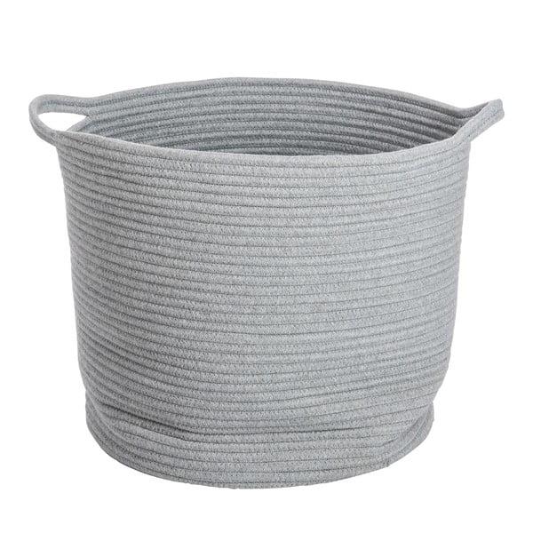 Koszyk Cotton Grey, 40x38 cm