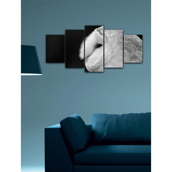 Wieloczęściowy obraz Black&White no. 90, 100x50 cm