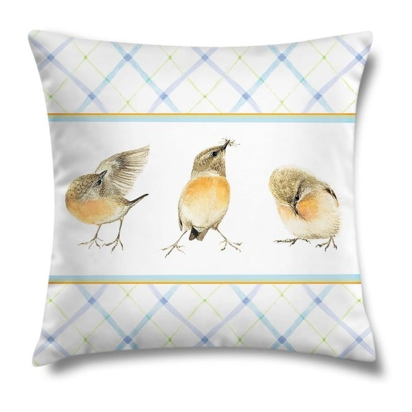 Poduszka Three Birds, 43x43 cm