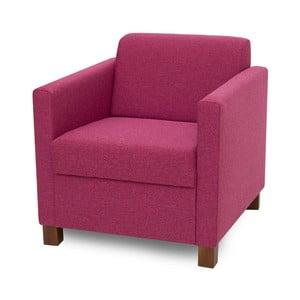 Różowofioletowy fotel Softnord Topaz
