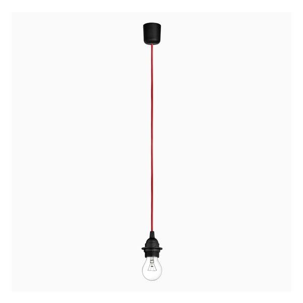 Wiszący kabel Uno+, czerwony/czarny