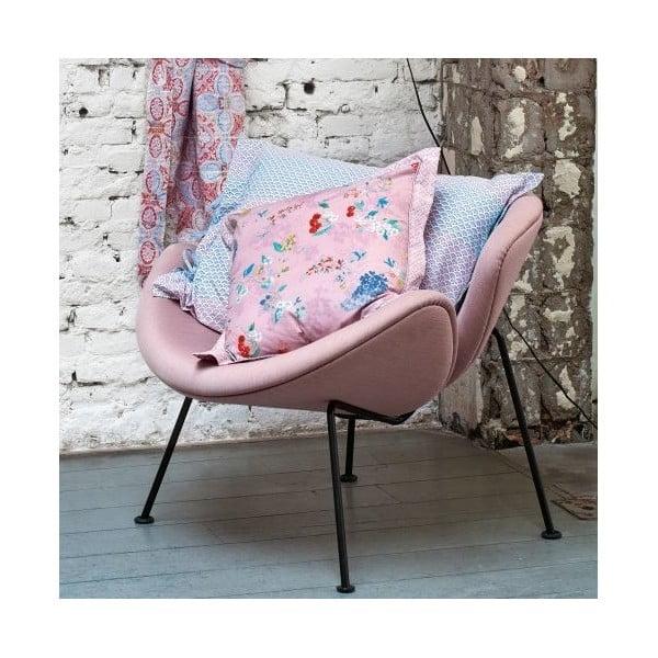 Poszewka na poduszkę Pip Studio Hummingbirds, 60x70 cm, lila