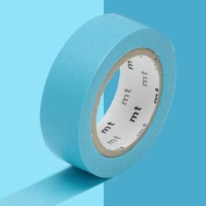 Niebieska taśma dekoracyjna washi MT Masking Tape Uni