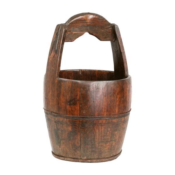 Drewniane wiaderko Qing