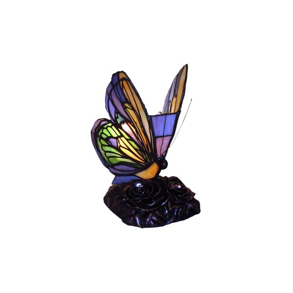Lampka Tiffany Glass Butterflies