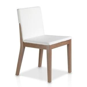 Białe krzesło Ángel Cerdá Inéz