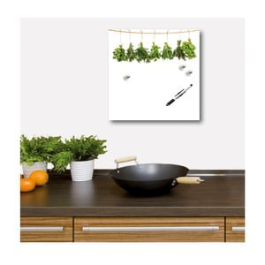Tablica magnetyczna Hanging Herbs, 30x30 cm
