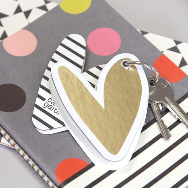 Notatnik-breloczek Hearts