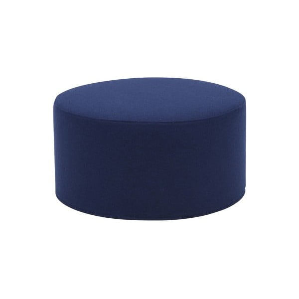 Granatowy duży puf Softline Drum Large
