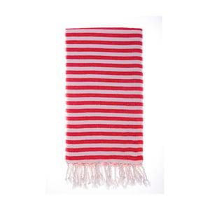 Ręcznik Hamam Marmaris Red 100x180 cm