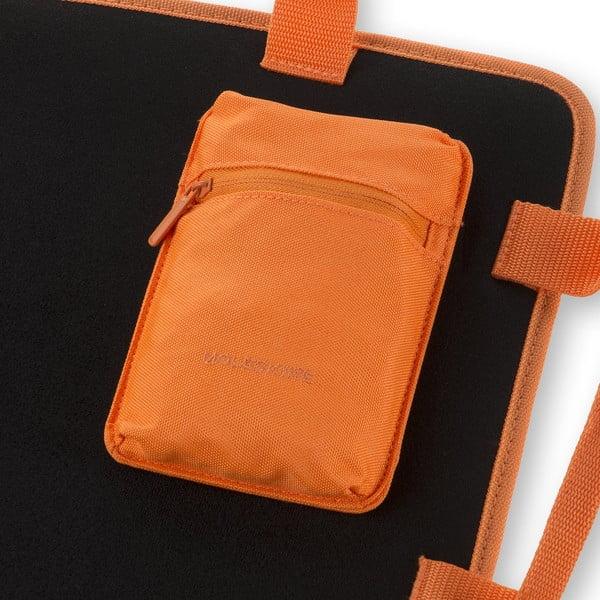 Uniwersalna saszetka kieszonkowa na rzep Moleskine 15x10 cm, pomarańczowa