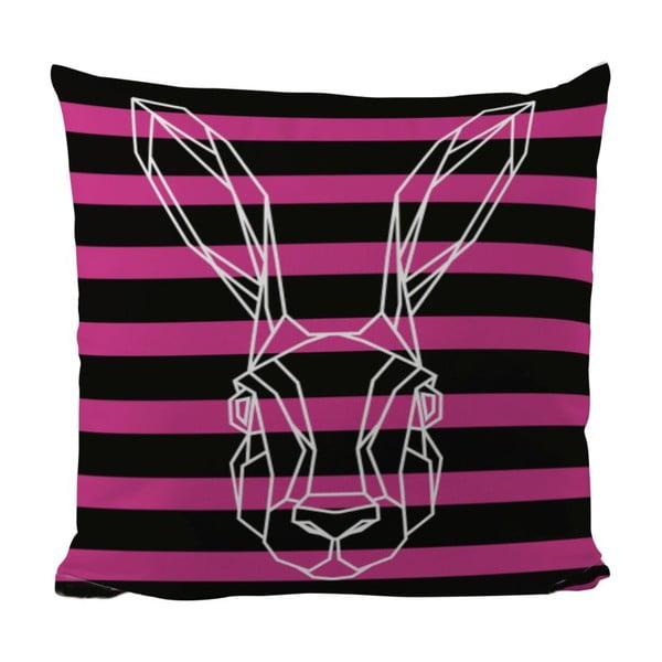 Poduszka Bunny In Stripes, 50x50 cm