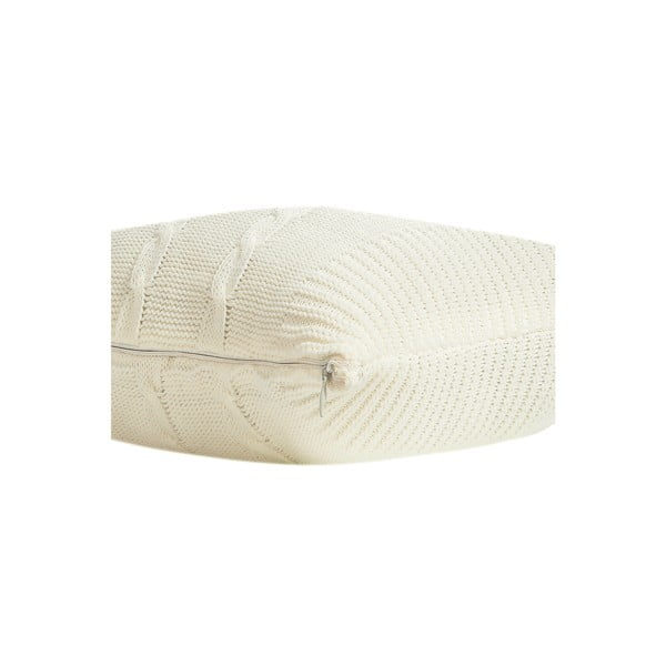 Pleciona poszewka na poduszkę Fancy Bone, 45x45 cm