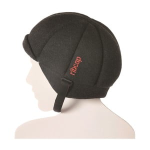 Antracytowa czapka ochronna Ribcap Jackson, L