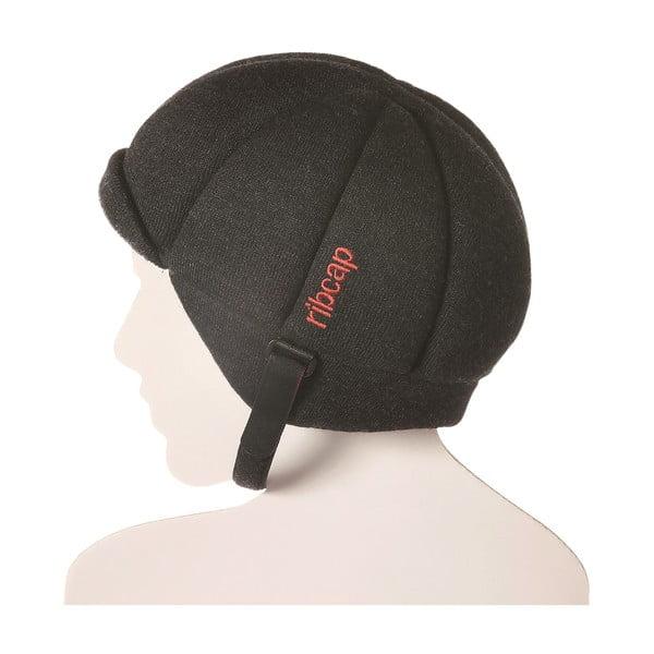 Antracytowa czapka ochronna Ribcap Jackson, M
