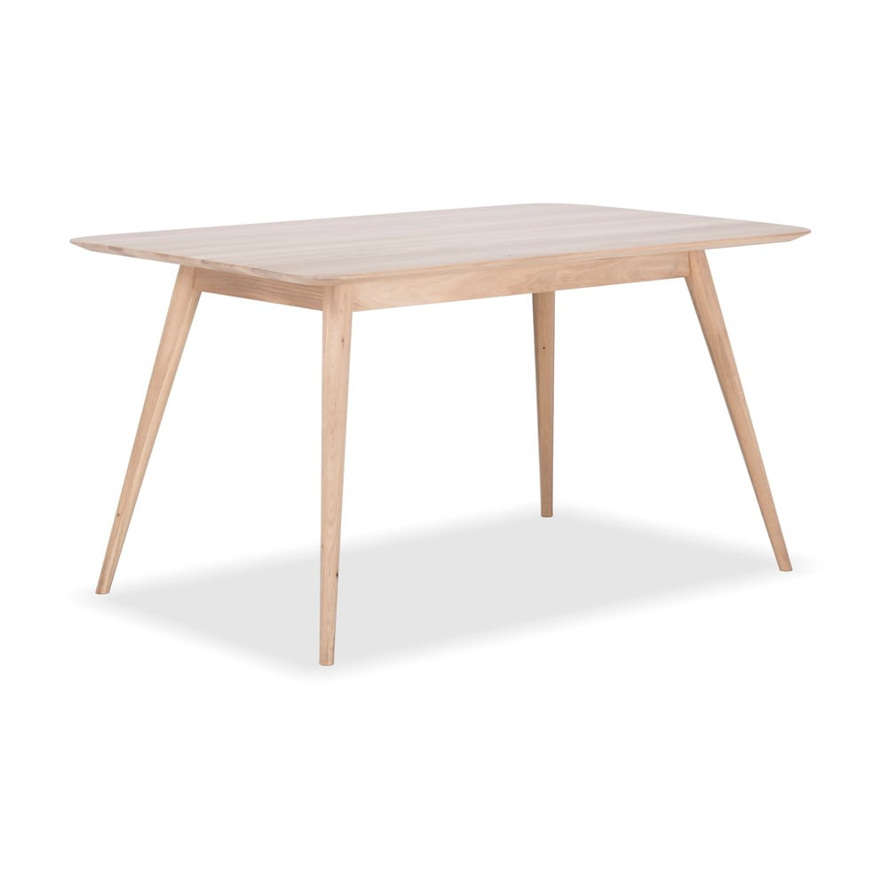 Stół z drewna dębowego Gazzda Stafa, 140 x 90 cm