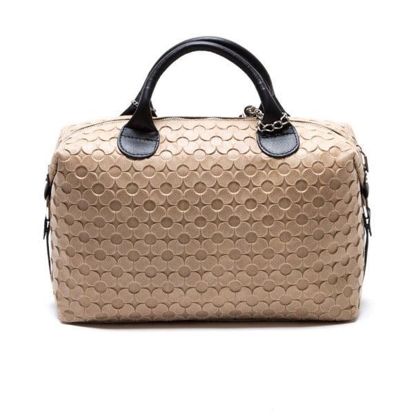 Skórzana torebka Carla Ferreri 890 Fango