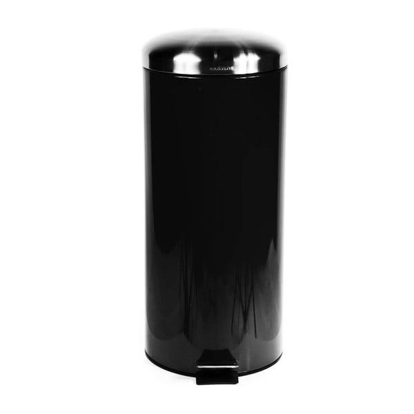 Kosz na śmieci Sabichi Pedal Black, 30 l