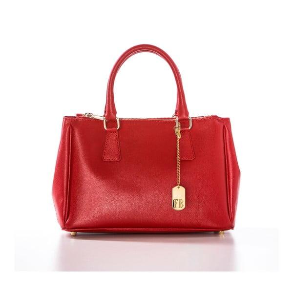 Skórzana torebka Saffi Red