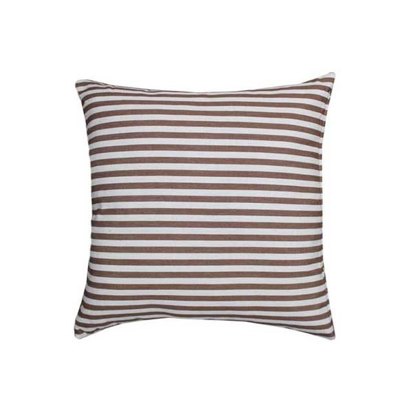 Poduszka Stripe Brown, 45x45 cm
