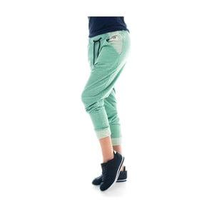 Zielone bawełninane spodnie dresowe Lull Loungewear Yonkers, rozm.S