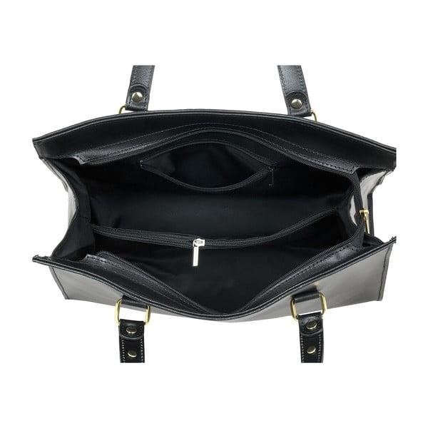 Czarna torebka skórzana Ore Diece Frosinone
