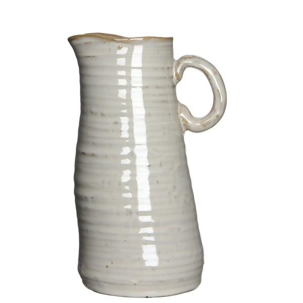 Wazon ceramiczny/dzbanek June Cream, 20 cm
