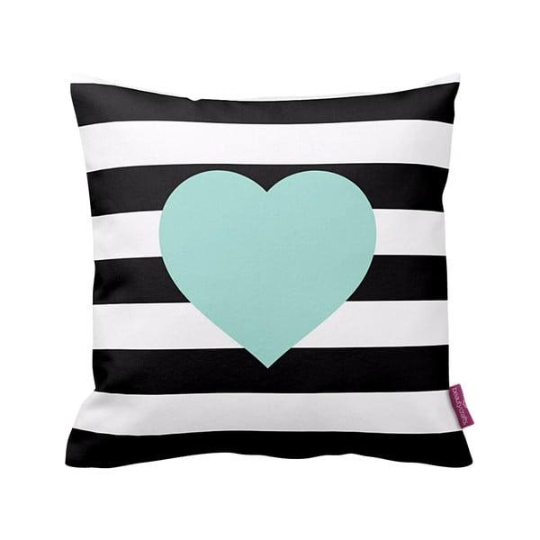 Poduszka Stripes Blue, 43x43 cm