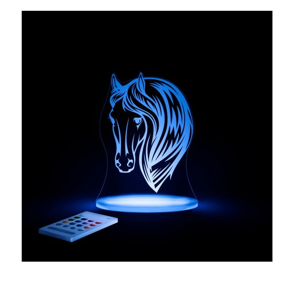 Dziecięca lampka nocna LED Aloka Koń