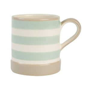 Kubek T&G Woodware Mint Stripe, 400 ml